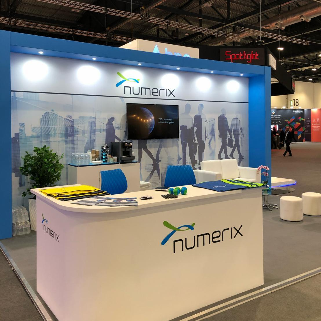 Numerix Tradeshow Display Banner