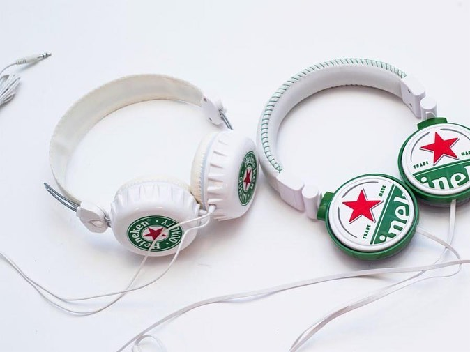Heineken Headphones Arrow Promotional